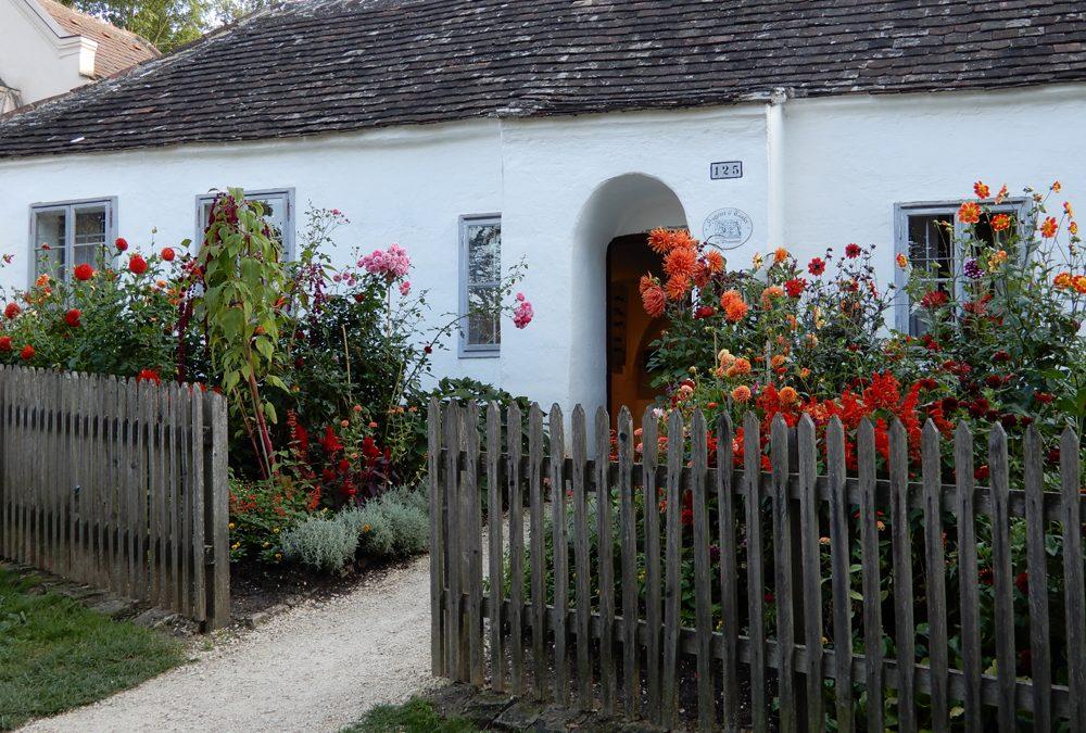Vortrag beim Naturgartenfest im Museumsdorf Niedersulz